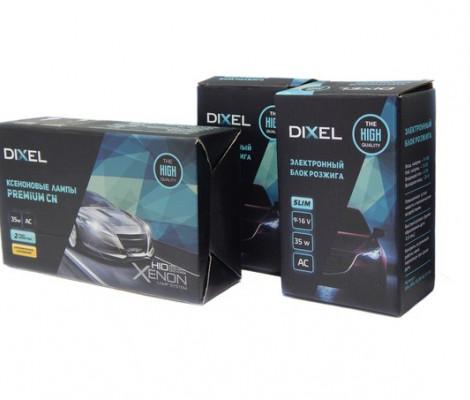 Комплект ксенонового света Dixel Slim AC 35W c лампами керамика