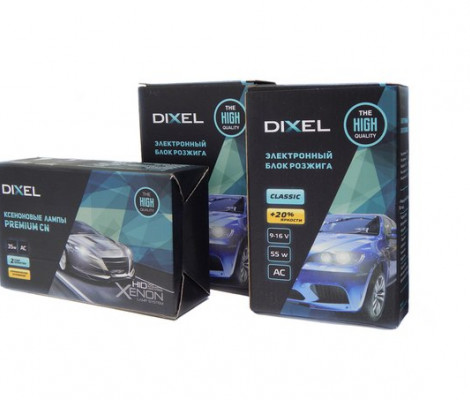 Комплект ксенонового света Dixel Classic 55W c лампами керамика