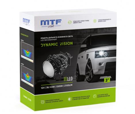 Светодиодный би-модуль MTF Dynamic Vision LED 3″ 5500К