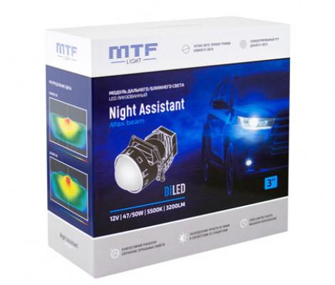 Светодиодный би-модуль MTF Night Assistant LED 3″ MaxBeam