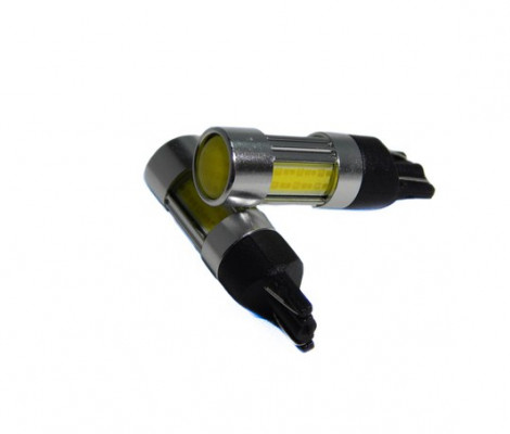 Лампа светодиодная PREMIUM DXL (W5W) T10 4 (COB) Белый (400LM) 12-24 VDC