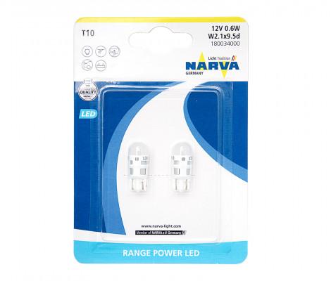 "Лампы светодиодные W5W NARVA ""Range Power LED"""