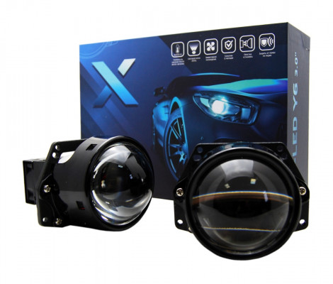 Светодиодный би-модуль X-LED Y6 3.0 5000K