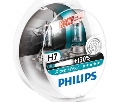 Галогеновые лампы H7 Philips X-Treme Vision +130%