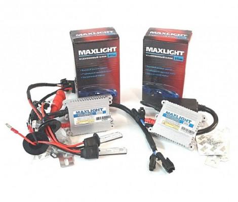 Комплект ксенона Maxlight Slim AC с лампами металл