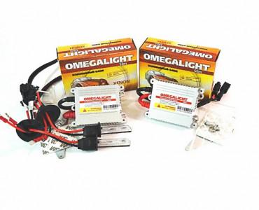 Комплект ксенона Omega Light Slim DC с лампами металл