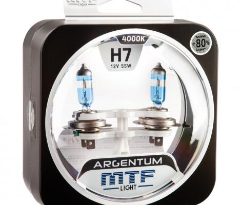 Галогеновые лампы MTF light ARGENTUM +80% 4000K
