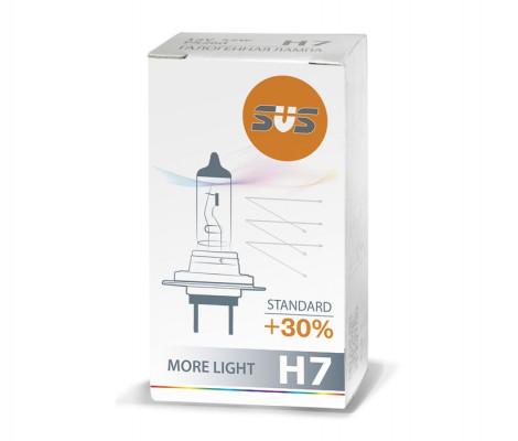 Галогенная лампа SVS Standard +30% H7 55W