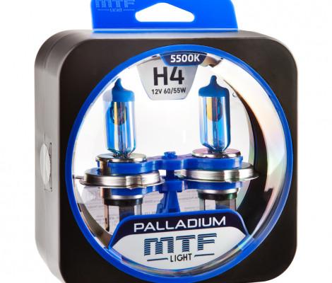 Галогеновые лампы MTF-Light H4 Palladium