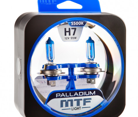 Галогеновые лампы MTF-Light H7 Palladium