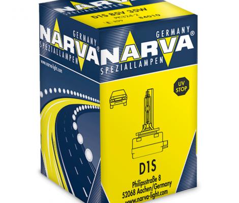 Лампа ксеноновая NARVA D1S 85V-35W