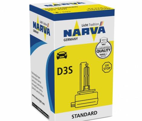 Лампа ксеноновая NARVA D3S 42V-35W