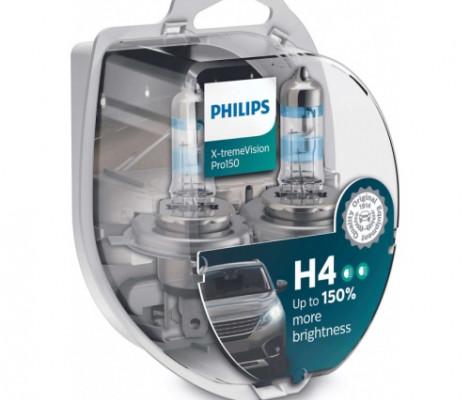 Галогенные лампы PHILIPS X-treme Vision Pro150