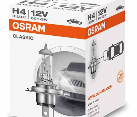 Галогеновые лампы Osram H4 Original Line - 64193 (карт. упак.)