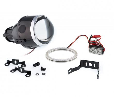 Билинза в противотуманные фары Optimа Waterproof Lens 2.5' H11