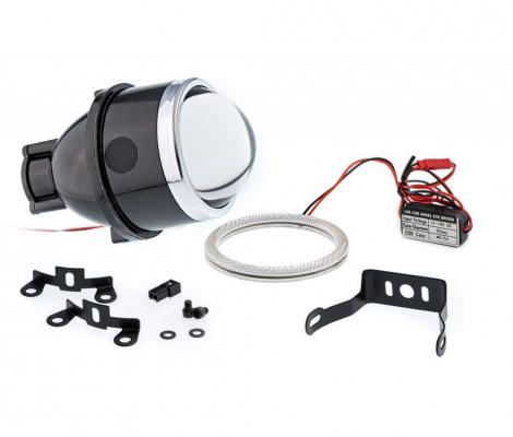 Билинза в противотуманные фары Optimа Waterproof Lens 3.0' H11
