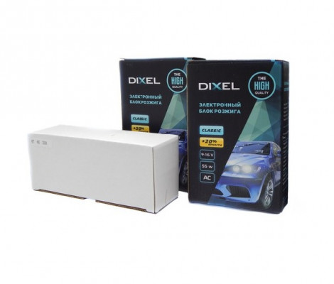 Комплект би ксенонового света Dixel Classic 55W H4