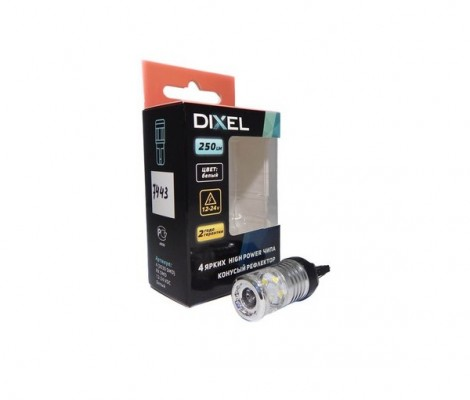 Светодиодная лампа DIXEL (W21/5W) T20 (7443)