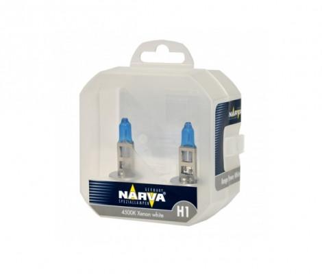 Галогеновые лампы Narva H1 Range Power White