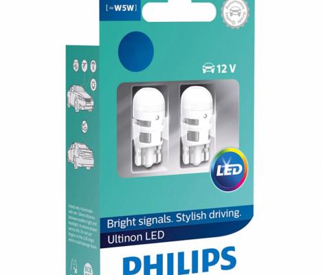 Светодиодные лампы Philips Ultinon LED W5W (T10) 4000K