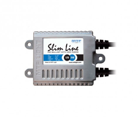 Блок розжига MTF Light Slim Line чип ASIC 12V/24V 25W