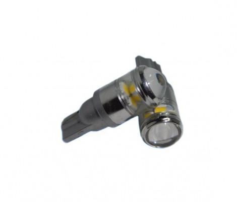 Лампа светодиодная PREMIUM DXL (W5W) T10 4 (SMD) 1 (CREE XB-D) RKL Белый (150LM) 12-24 VDC